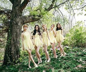 kpop, album teaser, and april image