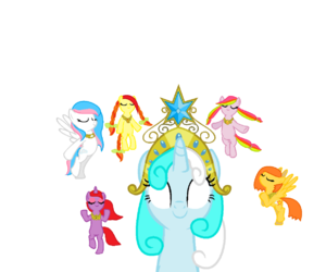 MLP, pony paint, and friendship is forever image