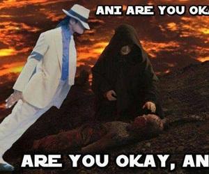darth vader, Anakin Skywalker, and michael jackson image