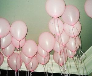 balloons, pink, and tumblr image