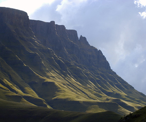 africa and lesotho image