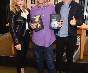author, handsome, and chloe grace moretz image