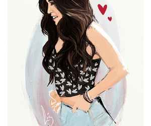 lauren jauregui, fifth harmony, and drawing image