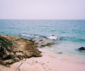 beach, sea, and tumblr image