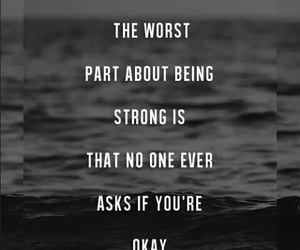 strong, quote, and okay image