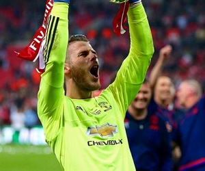 manchester united, david de gea, and fa cup image