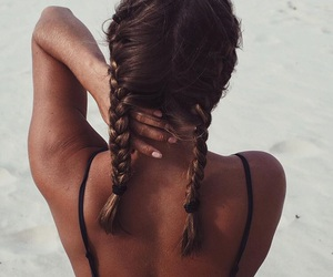 beautiful, braids, and trança image