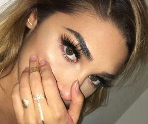makeup, chantel jeffries, and eyes image