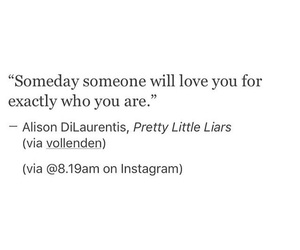 quote, pretty little liars, and pll image