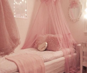 bedroom, pink, and roomspiration image
