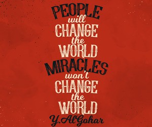 miracle and quote image