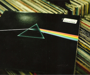 Pink Floyd, music, and dark side of the moon image