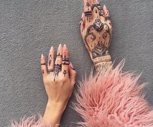 henna, nails, and fur image