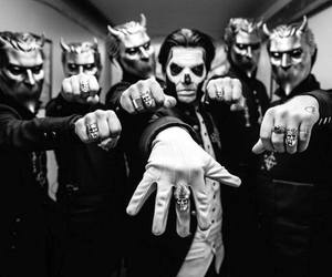 ghost, ghost bc, and papa emeritus iii image