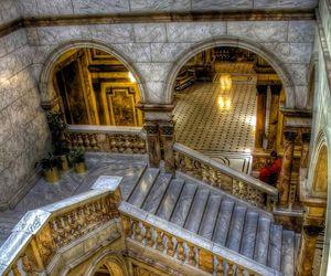 architecture, interior, and glasgow image