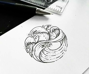 draw and tattoo image