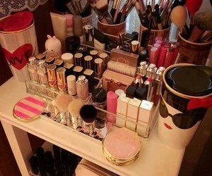 beauty, makeup, and collection image