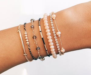 bracelet and arm image