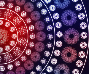 background, floral, and mandala image