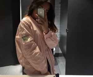 bomber, fashion, and outfit image