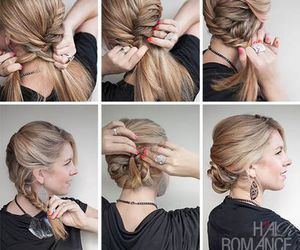beauty, braided, and braid image
