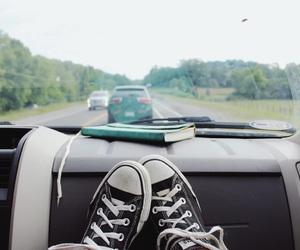 car, converse, and cozy image