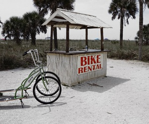 bike, beach, and rental image
