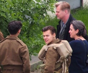 Harry Styles, one direction, and dunkirk image