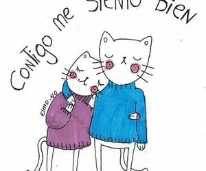 black and white, dibujos, and frases image