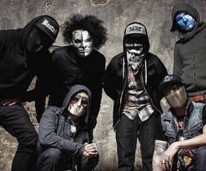 hollywood undead, danny, and charlie scene image