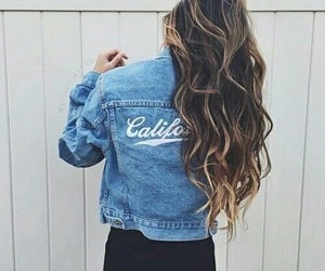 curly, girls, and longhair image