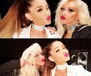 the voice, ariana, and grande image