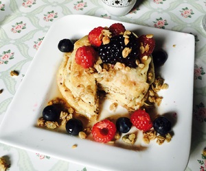 american, berries, and breakfast image