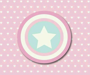captain america, wallpaper, and pink image