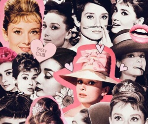 audrey hepburn, Collage, and Queen image