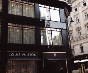 brown and Louis Vuitton image