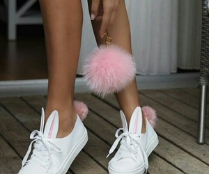 bunny, shoes, and fashion image