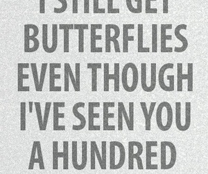 love, butterflies, and quotes image