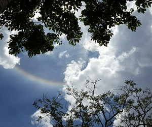 beautiful, clouds, and halo image