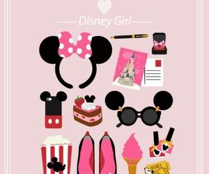 disney, pink, and wallpaper image