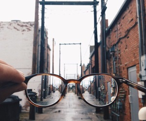 glasses, city, and tumblr image