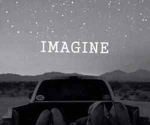 imagine, stars, and Dream image