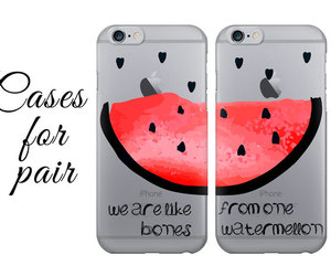 bumper, cases, and watermelon image
