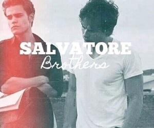 salvatore, brothers, and damon image