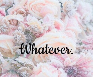 whatever, wallpaper, and flowers image