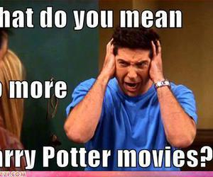 harry potter, ross, and friends image