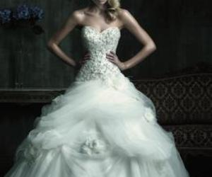 wedding gown image