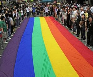 gay, gay pride, and parade image