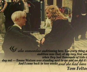 dramione, draco malfoy, and emma image