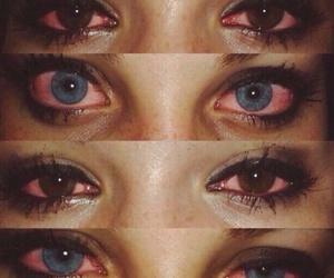 eyes, sad, and weed image